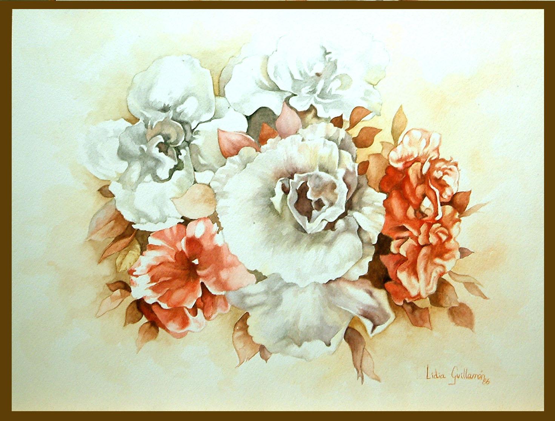 Flors Aquarelle